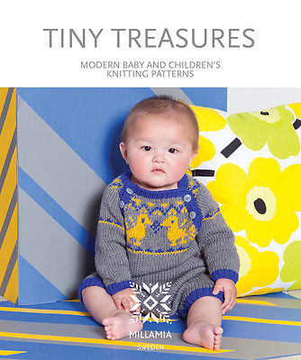 Millamia Tiny Treasures Knitting Pattern Book For Babies And Small
