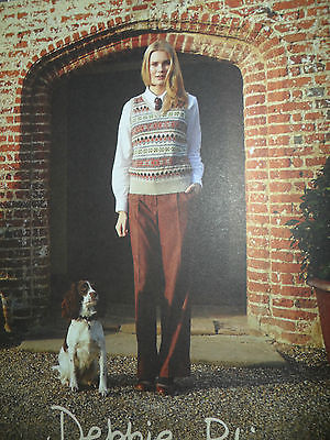 NEW  for 2013/14 Debbie Bliss Blue Faced Leicester dk knitting pattern book